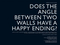Does The Angle Between Two Walls Have A Happy Ending?