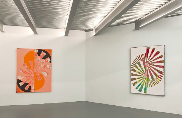 Turning Point Paintings, installation view 2