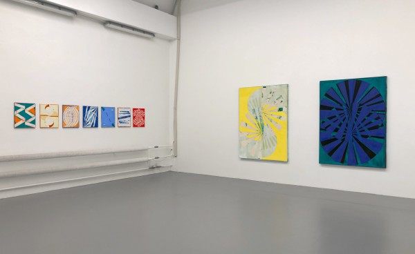 Turning Point Paintings, installation view 1